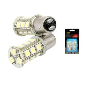 SODIAL(R) 2 x Ampoule LED de rechange pour lampe de frein de voiture 157 BAY15D 18 5050 SMD LED