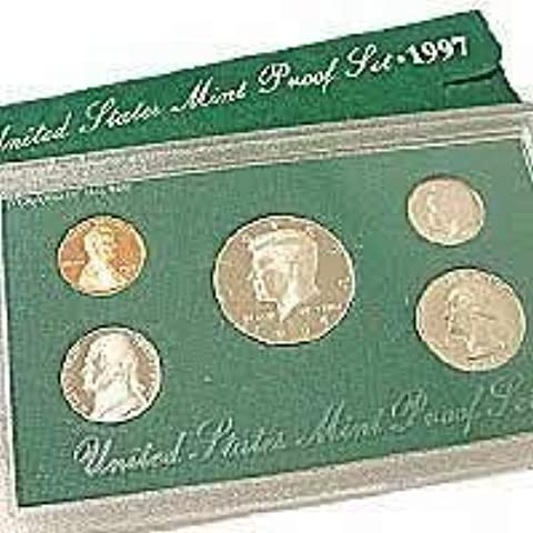 1997 United States Mint Proof Set by