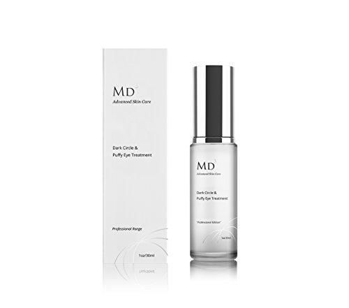 MD3 cerchio scuro e crema occhi gonfi | 30ml | Riduce le occhiaie, gonfiori e linee sottili | Per la pelle senza rughe, idratata e liscia e viso | Effetto lenitivo e ringiovanimento
