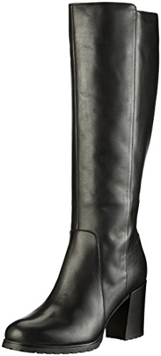 Geox D New Lise High H, Stivali Donna Nero (Black)