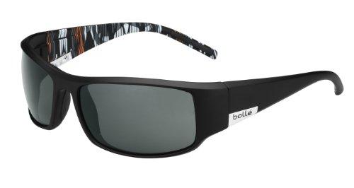 Bollé Sonnenbrille King Mat Black/Orange Zebra, L