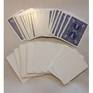 Jeu Spécial Bicycle Tarot Bleu - Face Blanche (US Playing Card Company)