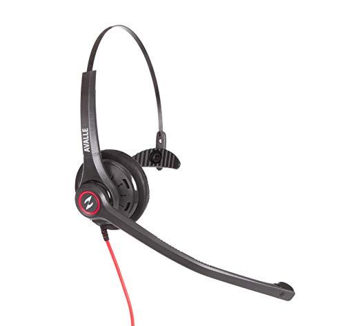 Avalle Yealink Snom Grandstream Headset completo con cavo di collegamento con isolamento acustico per T46T22T23Yealink Snom 710Grandstream GXP2140