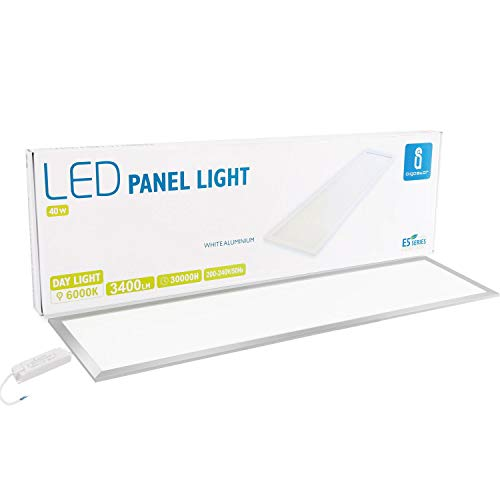 Aigostar - Panel LED rectangular, 40 watios, luz fria (6000K), 3600 lumen,...