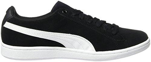 Puma Vikky, Baskets mode Femme Noir (Black/White 02)