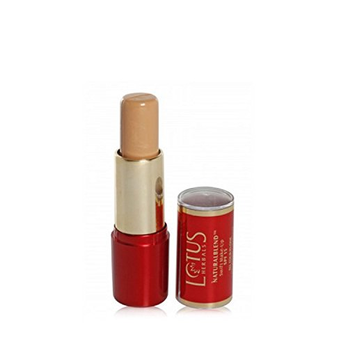 Lotus Herbals NaturalBlend Swift Make-up Stick SPF 15, Natural Beige, 10g