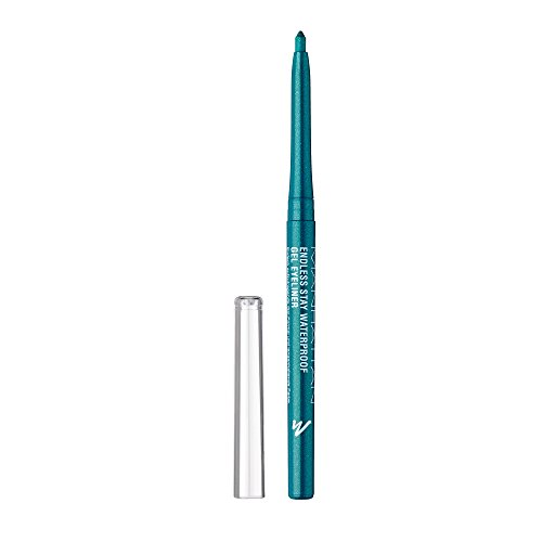 Manhattan Endless Stay Waterproof Gel Eyeliner, 005 Emerald Sparkle Grün, langanhaltend, wisch- und...
