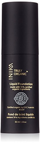 INIKA Certified Organic Liquid Mineral Foundation Cream