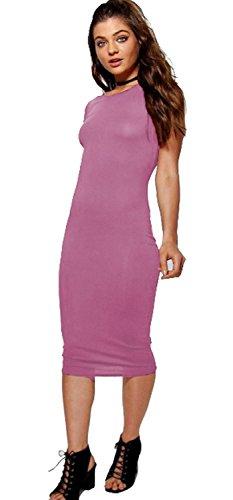 Vanilla Inc - Robe - Manches Courtes - Femme rouge * taille unique rose bébé