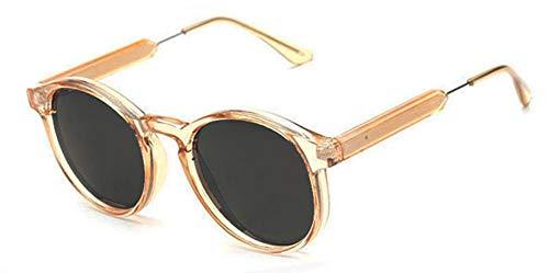 Sonnenbrille Jahrgang Frauen Runde Sonnenbrille Designer Männer Schlüsselloch Dicke Frame Sonnenbrillen Weiblichen Sonnenbrille Uv400 Gelb Orange Schwarz