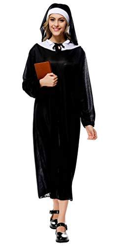 YiyiLai Halloween Cosplay One Size Priesterin Stil Kostüm Rollenspiel Kostüm (Priesterin Halloween Kostüme)