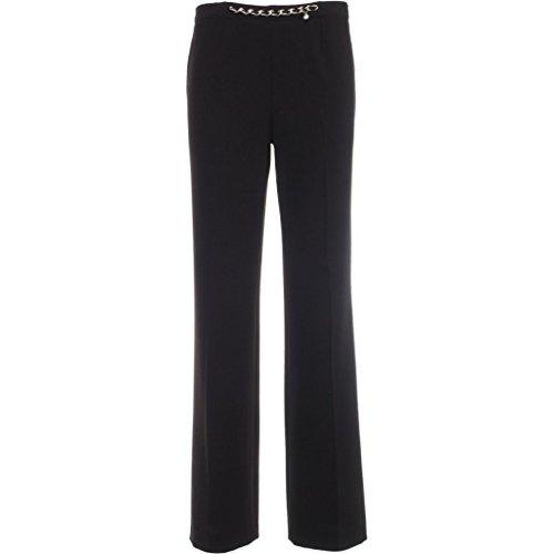 A664460D-100.pantalone elegante.Nero.40