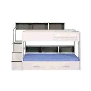 Kurt Trundle Bunk Bed Finish: White, Storage: With Trundle