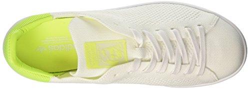 Adidas Damen Stan Smith Primeknit Sneaker Weiß (calzature Bianche / Calzature Bianche / Solari Gialle)