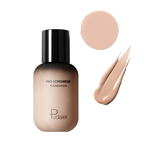 Harpily Concealer Foundation + Puff Set Gesicht Auge Foundation Liquid Puff Block Defekt Highlight Contour Liquid Stick Concealer/Stiftung Concealer Pomade -