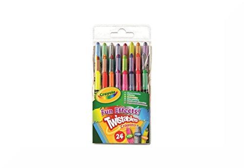 Crayola–Fun & del efecto Twistable Crayons 24Inspirational imán