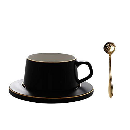 Nordic Wiederverwendbare Kaffeetassen-Set, Espresso-Tassen, Wasser, feines Knochenporzellan, süße Cappuccinotasse, Weihnachtsgeschirr, Home 50T019, 220 ml, Style7