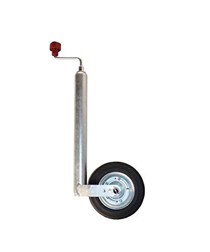 Transportrad pflegeleichte verzinkt Al-Ko Plus für Spielraum Wagen Vollgummi, verzinkt