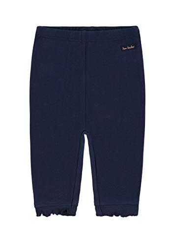 TOM TAILOR Kids Baby-Mädchen solid Leggings, Blau (Black Iris Blue 3800), (Herstellergröße: 80)