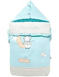Vicheng Saco de Dormir Anti-sobresaltado para bebés Saco de bebé recién Nacido Toalla Swaddle
