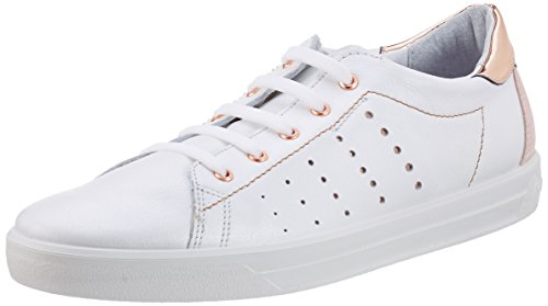 Ricosta Midori, Sneakers basses fille Weiß (weiss)