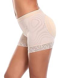 cc05dce6ca8 Caidi Femme Culotte Sculptante Culotte Push Up Monte Fesse Butt Lifter  Enhancer Shapewear Shorties Invisible Panties