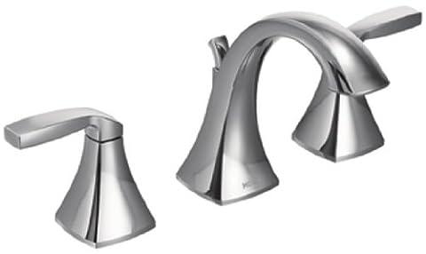 Moen Voss Nickel poli–Haut Arc Robinet bain robinet,