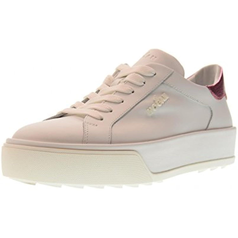 Hogan Scarpe Piattaforma Donna Sneakers Basse Piattaforma Scarpe HXW3200BG80IGG547S R320 Parent 86631f