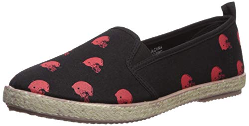 FOCO Cleveland Browns Espadrille Canvas Shoe - Womens Small -
