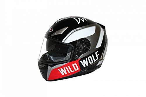 Casco Integrale Shiro SH-715 Wild Wolf Nero XL