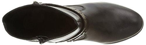 Remonte D3174 02, Bottes Classiques femme Noir (Noir Combiné)