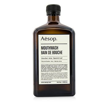 aesop-mouthwash-500ml-beautiful-glass-bottle-clove-aniseed-spearmint-leaf-bain-de-bouche