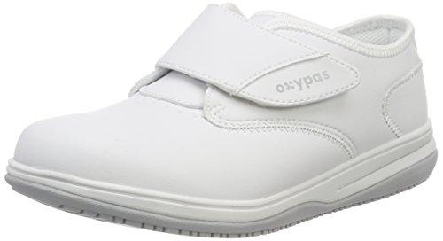 Oxypas Medilogic Emily Slip-resistant, Antistatic Nursing Shoe, White (Wht), 4 UK (37 EU)