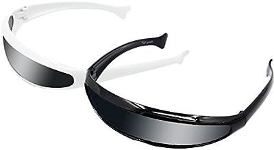 Niños futurista niños PC marco lente gafas de sol traje fiesta divertidos accesorios gafas