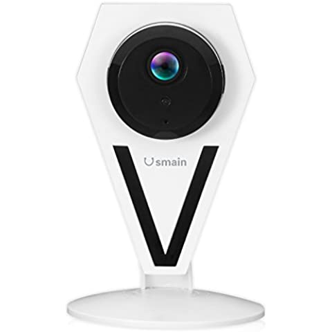 Usmain HD 960P Wi-Fi Indoor/Home Camera IP Videocamera di Sicurezza