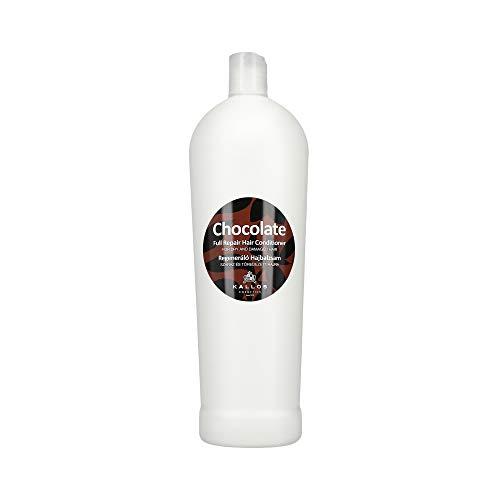 Kallos Schokolade Trocken geschädigtes Haar Full-Repair Hair Conditioner 1000ml (Schokolade Conditioner)