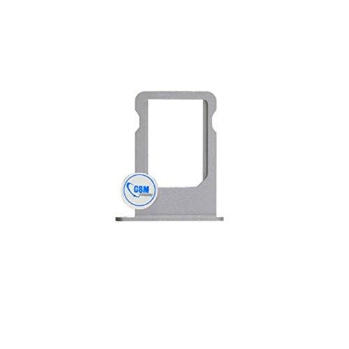 gsm-company*de Micro SIM Karten Halter Card Tray Holder Adapter Slot für Apple iPhone 5s Silber # itreu (Apple Iphone 4 Sim Card Tray)