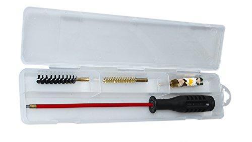 Waffenreinigungsset Kurzwaffen Waffenpflege Kaliber 45 ACP /44 Magnum Waffenputzzeug Pistole /Revolver (44 Magnum Pistolen)