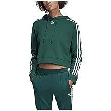 es Mujer Sudaderas Amazon Adidas Corta BXx7qww