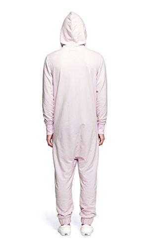 Onepiece Unisex Jumpsuits P-li16013 Rosa (Icecream Pink)
