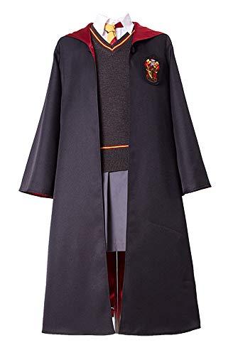 Krawatte Kostüm Hermine - RedJade Hermione Granger Harry Gryffindor Uniform Cosplay Kostüm Damen XS