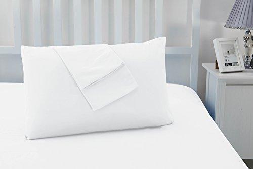 Juego de 2 Luxury Non hierro suave microfibra fundas de almohada por Sonia moer