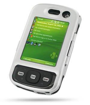 Alu-Case Eixo mit Displayglas für Vodafone VPA Compact GPS, HTC P3600, HTC Trinity