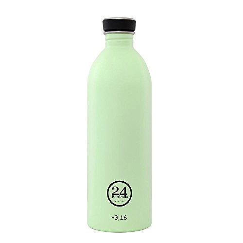 Produktbild Trinkflasche 'Urban Bottle Pastel' aus Edelstahl 1 Liter,  Farbe:Pistachio Green