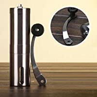 ELECTROPRIME Ceramic Manual Coffee Grinder Portable Hand Crank Stainless Coffee Mill #2