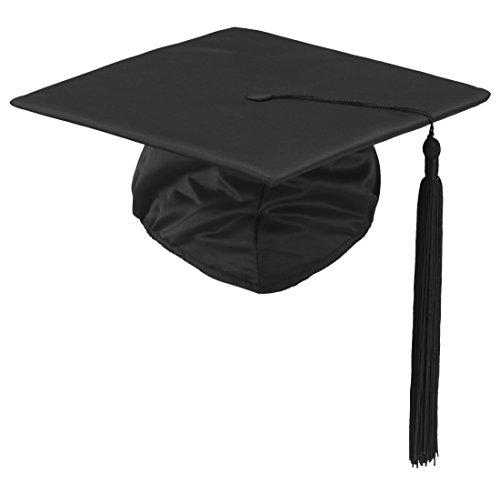 KOKOTT Doktorhut, 23x23cm, zur Graduation, für Sie und Ihn (Einfach) (Graduation Cap Papier)