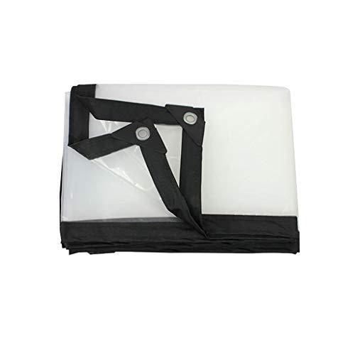 Love Home Plane Wasserdicht Staubdicht Verschleißfest Sonnenschutz Plane Wrap Winkel Plane Transparent Farbe 2-6m (größe : 5 * 6m) -