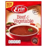 Erin Simmer Traditional Beef & Vegetable Soup (5 X 68g