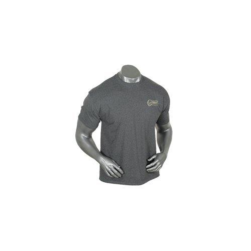 Voodoo Tactical Herren Frontier T-Shirt, Herren, 20-9999090094, Heather Charcoal, Large