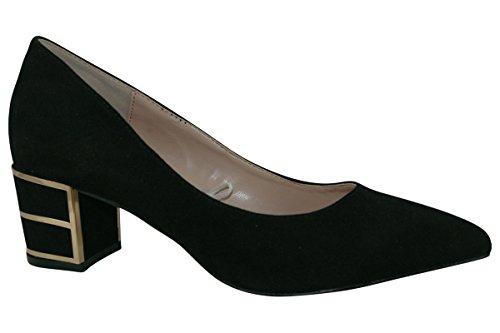 Lotus Mercy Womens Classic Court Shoes 5.5 Black